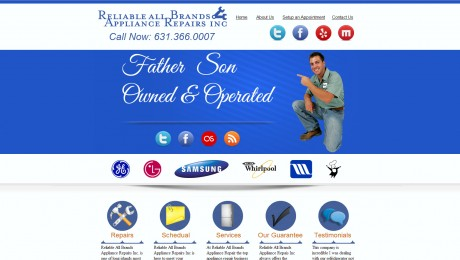 Reliable All Brand Appliance Repair Inc.